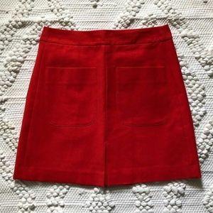 Ann Taylor Skirt Women Size 2 Mod Retro 60's style